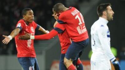 El Lille no le pierde el paso a los punteros del campeonato francés.