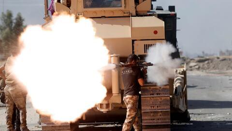Batalla contra ISIS en Mosul, la segunda ciudad más importante de Irak