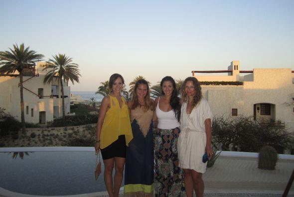 Satcha Pretto se fue a Cabo San Lucas, México, a festejar su despedida d...