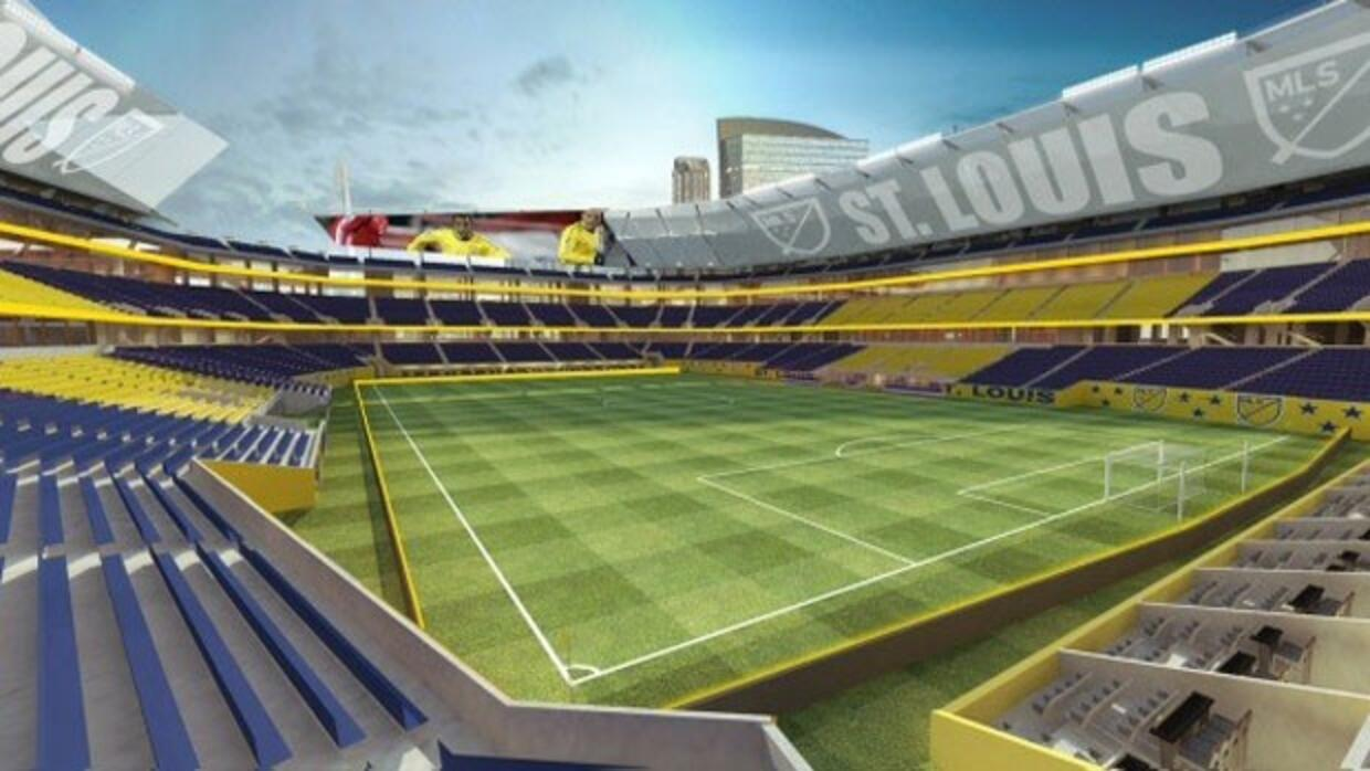 Renderings de estadio en St. Louis