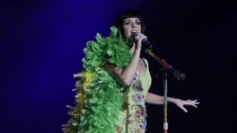 Katy Perry dice que dentro de algunos años podrá ir de gira sólo con su...