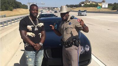 Policía estatal aprovechó que paró al jugador y se...