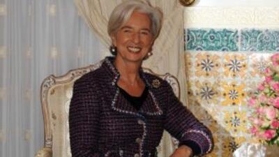 La investigación a Lagarde por parte de la Justicia francesa se abrió of...