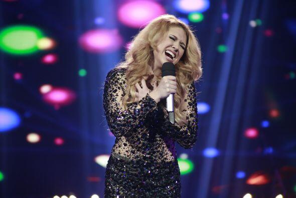 En este séptimo duelo, regresó por tercera vez a cantar Paloma.