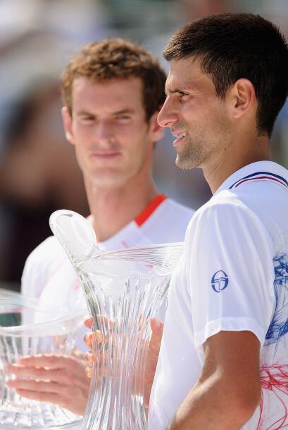 En la final batió al británico Andy Murray.