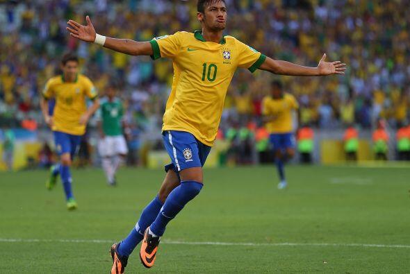 México no pudo contener a la estrella de Brasil y Neymar hizo trizas a l...