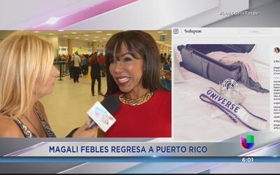 ¿Dayanara Torres y Magali Febles al frente de Miss Puerto Rico Universe?