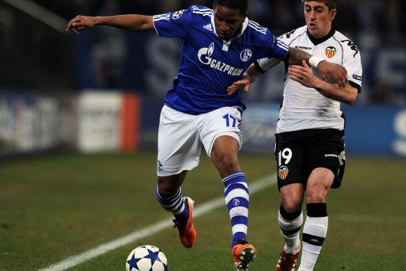 El otro duelo del día tuvo la visita del Valencia a la casa del Schalke 04.