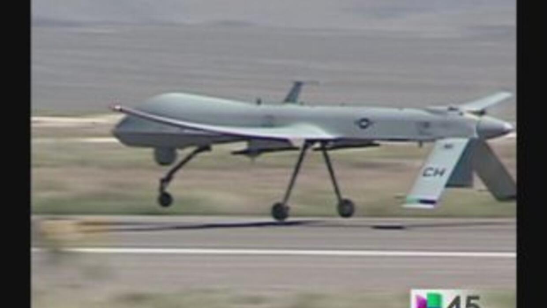"""La CBP opera drones tipo """"MQ-9 Reaper"""" a gran altura para vigilar la fro..."""