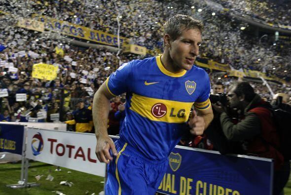 El otro gran momento que marcó la jornada fue la despedida de Martín Pal...