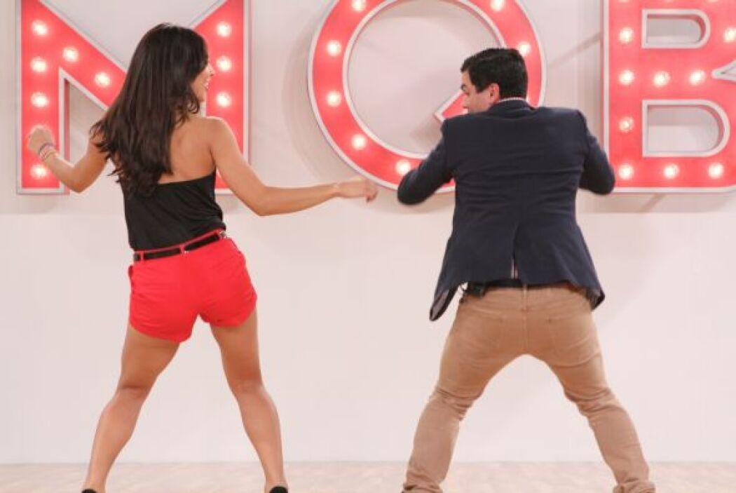 Las clases de baile no acabaron para Alejandra.