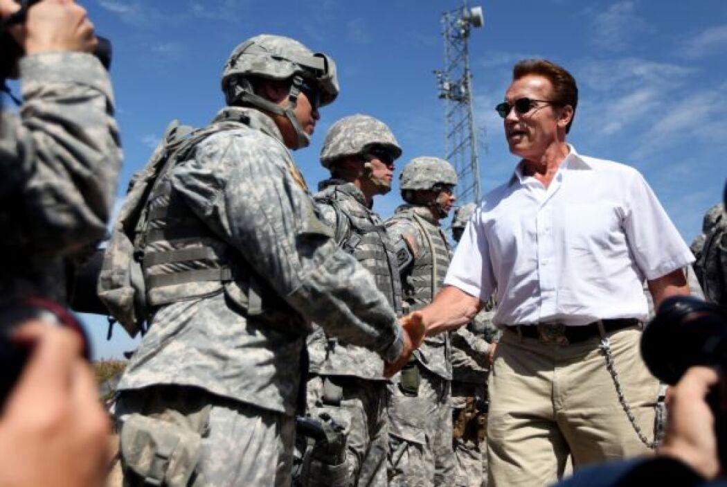 """""""Hoy nuestra Guardia Nacional ha sido llamada para proteger nuestra fron..."""