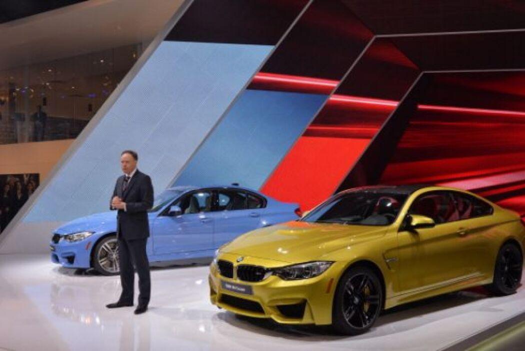 El BMW M4 fue uno de los estrenos más esperados del evento.
