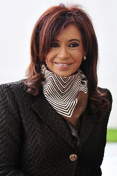 La presidenta argentina Cristina Fernández de Kirchner se encuentra en l...