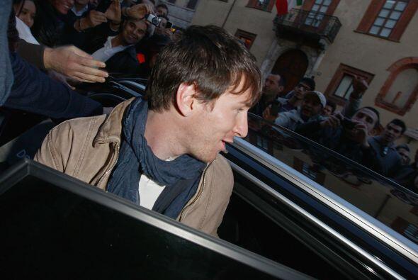 El jugador del Barcelona se dio una 'escapada' por tierras italianas, do...