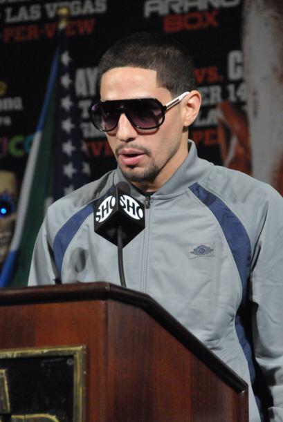 Con todo dicho, Danny García solo comentó que está listo para la pelea.