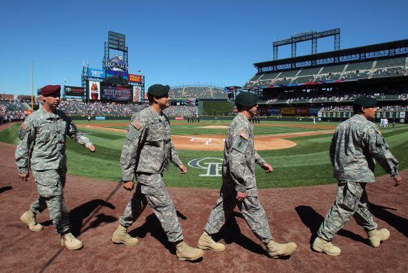 En Colorado también se homenajeó al ejercito de los Estados Unidos.