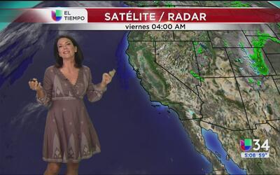 Mañana nublada en Los Ángeles