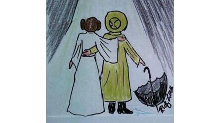 Todd Fisher dedicó esta imagen al amor más grande del que...