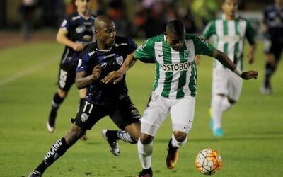 Atlético Nacional e Independiente del Valle empataron en la ida