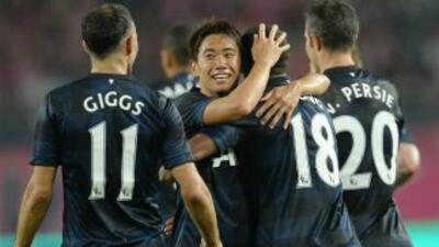 Kagawa, muy ovacionado en Japón, anotó ante el Osaka.