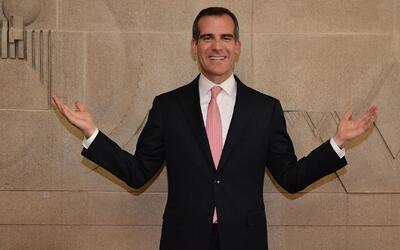 Eric Garcetti busca ser reelegido como alcalde de Los Ángeles