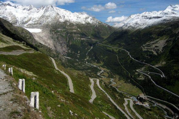Furka Pass, Switzerland  (Foto: Flickr)