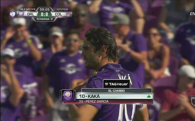 Recibimiento de 'héore' del Orlando City SC para Kaká