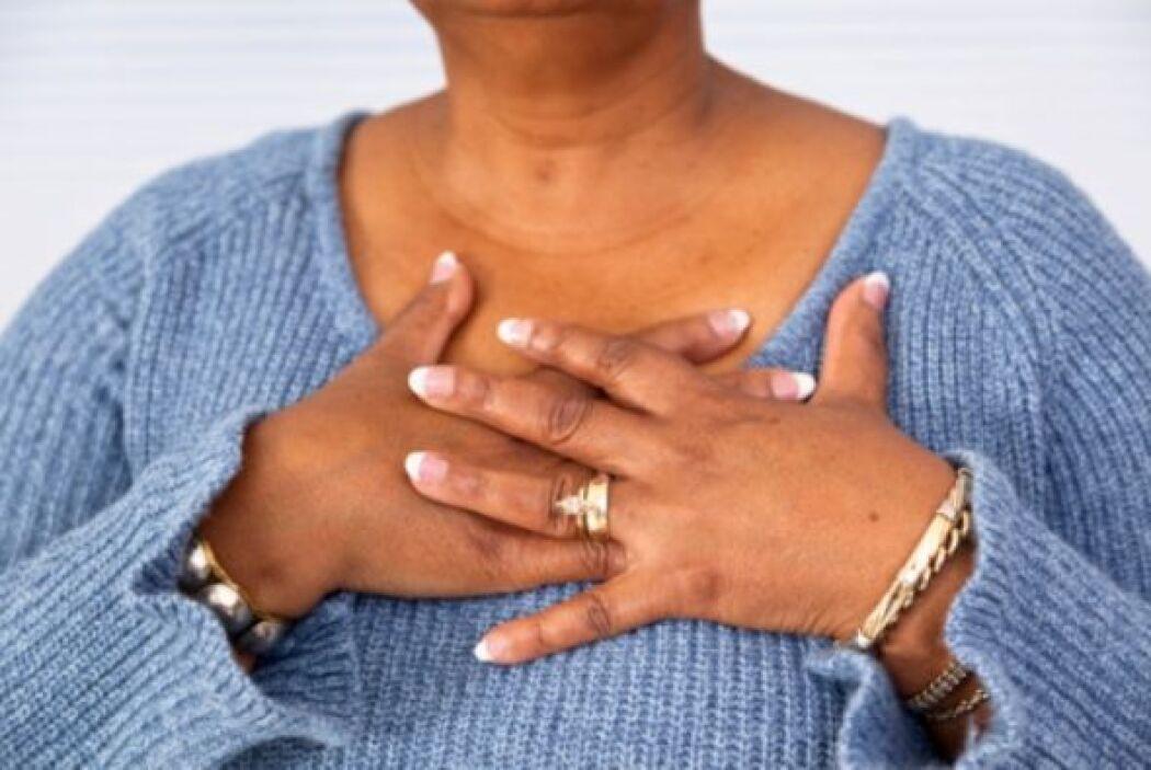 """""""Sabré cuando me esté dando un ataque al corazón porque tendré dolor de..."""