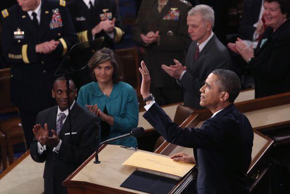 Dijo que el estado de la nación es fuerte, que los hombres armados que p...