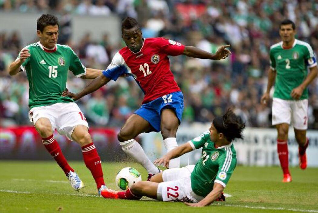 El 11 junio México recibió a Costa Rica en el Estadio Azteca y simplemen...