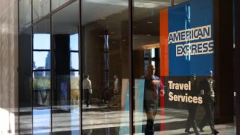 Instalaciones de American Express en Nueva York.