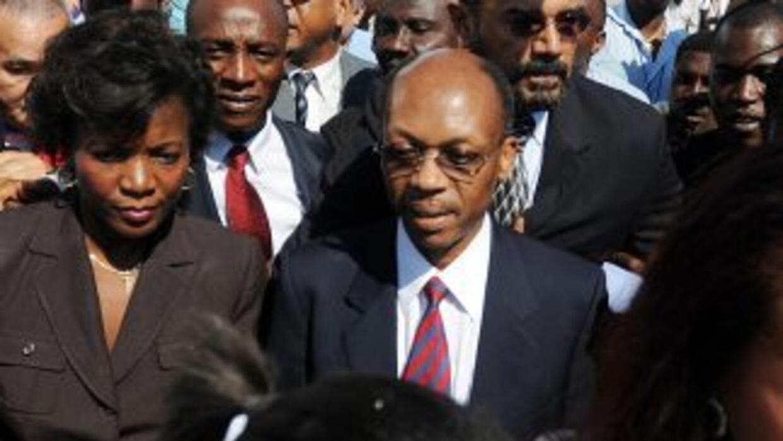 El regreso del ex presidente Aristide, tras siete años de exilio, ha pue...
