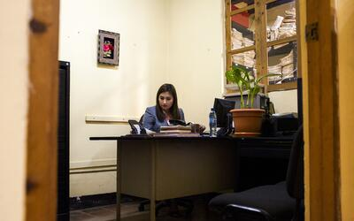 Karen Cárdenas Reyes es la una única abogada de la defensa pública penal...