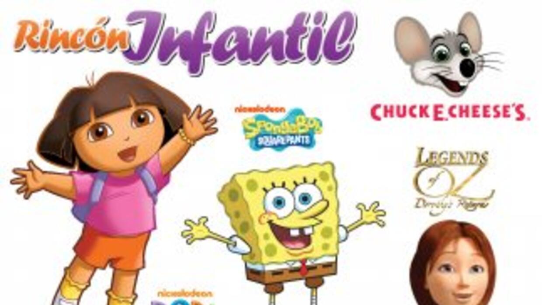 Dora La Exploradora, SpongeBob, y mas en Familia y Hogar 2014