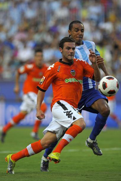 Valencia también sacó un marcador amplio en su duelo con el Málaga.