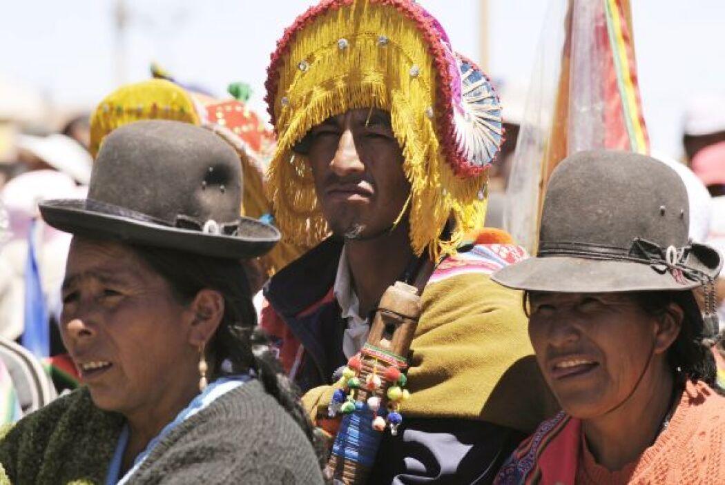 El desierto salado de Uyuni está a unos 3,650 metros de altura, entre lo...