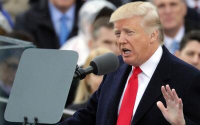 Discurso inaugural de Donald Trump como presidente de Estados Unidos