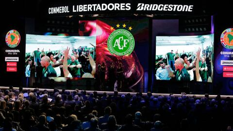 Chapecoense disputará la Copa Libertadores 2017.