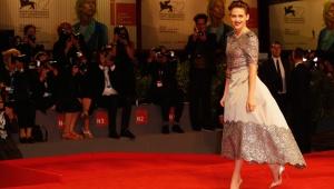 Kristen Stewart en el Festival de Cine de Venecia.