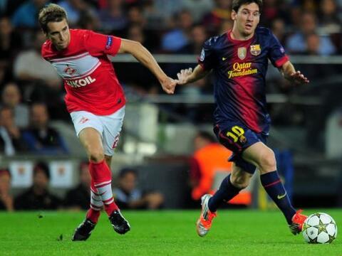 Uno de los candidatos al título de la Champions League, el Barcel...