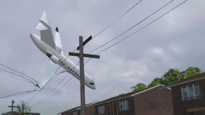 Una avioneta se estrella con una casa en Ohio