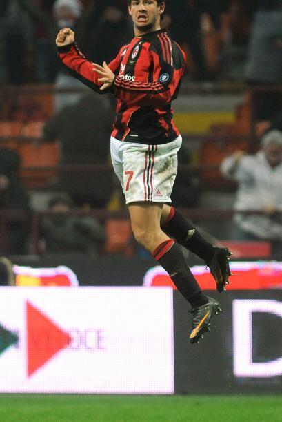 Pero Alexandre Pato también logró un doblete.