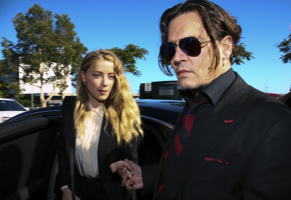 Johnny Depp y su esposa Amber Heard anunciaron su divorcio esta semana.