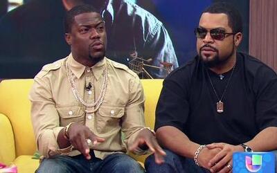 John Leguizamo, Ice Cube y Kevin Hart llegaron con perfecto Spanglish a...