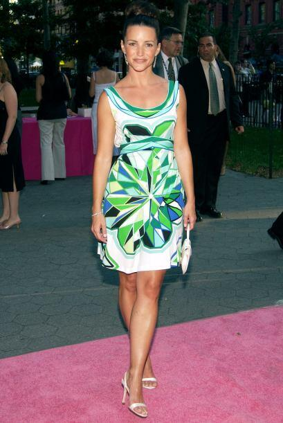 Charlotte: Kristin Davis la mujer femenina, conservadora en sus gustos....