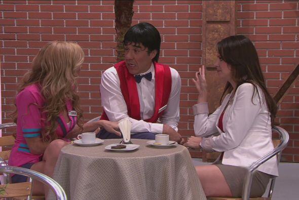Jacky les contó a Carmelo y a Chabelita que Anita estaba embarazada.