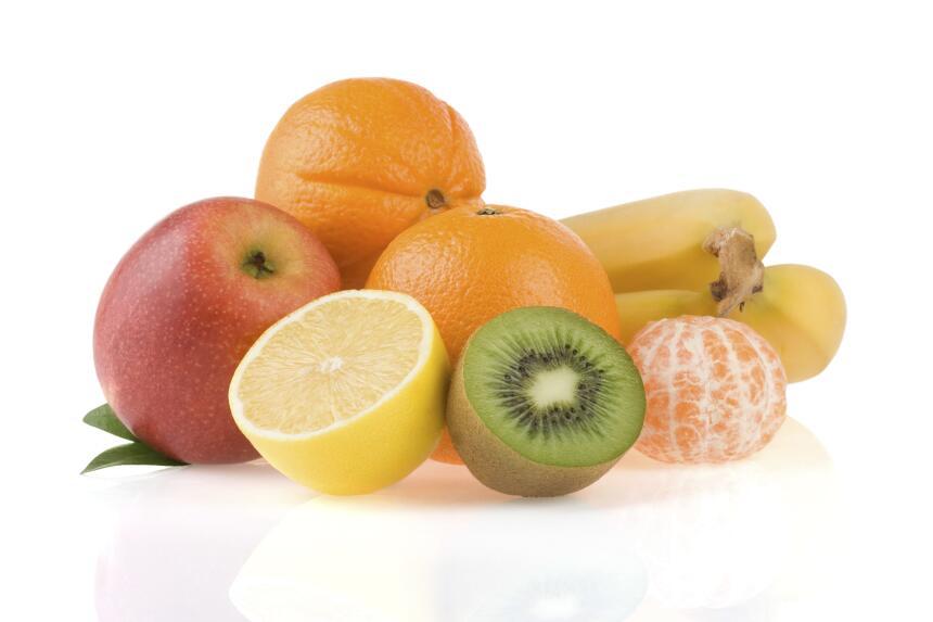 Usa frutas para decorar. Los cítricos tienen colores ideales para...