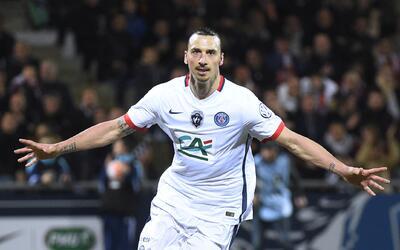 Ibra marcó el único gol