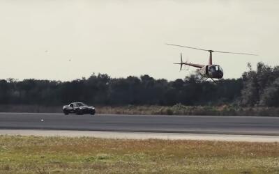 Corvette Z06 eléctrico alcanza las 186.8 mph y rompe récord de velocidad